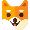 animal, dog, shiba, pet icon