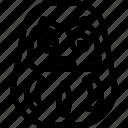 daruma, japan, japanese, monster, toy icon