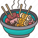 oden, soup, stew, food, japanese