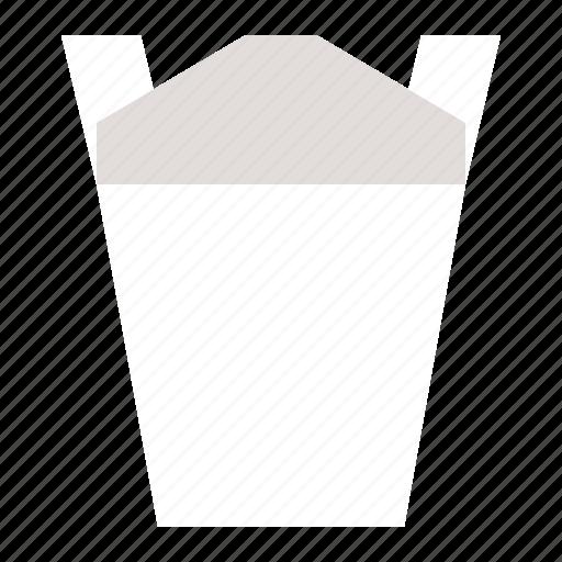 food, japan, paper bag, take away, take away food icon