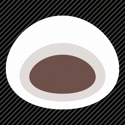 daifuku, food, japan, red bean, sweets icon