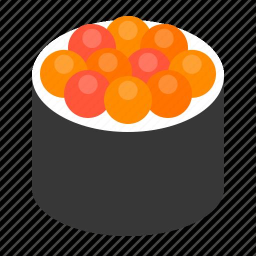 california maki, food, japan, maki, roll, sushi icon
