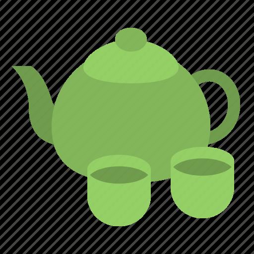 cup, drink, food, japan, tea, teapot icon