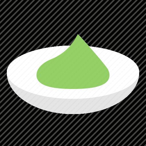 food, japan, seasoning, wasabi icon