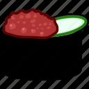 gunkan, toro, japan, japanese, seafood, sushi, food