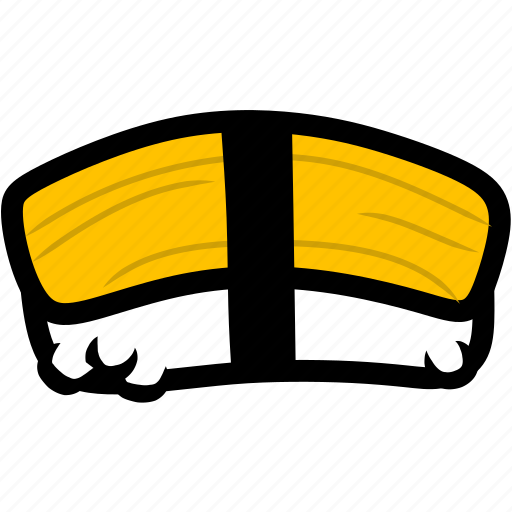 egg, eggs, food, healthy, japan, japanese, sushi icon