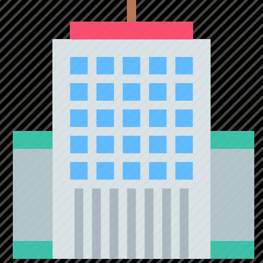building, company, skyscraper icon
