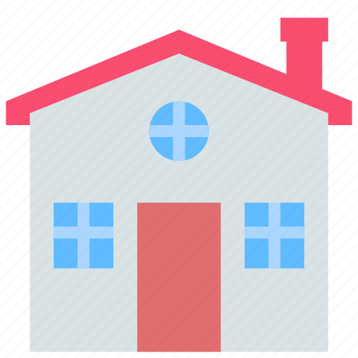 building, home, house icon
