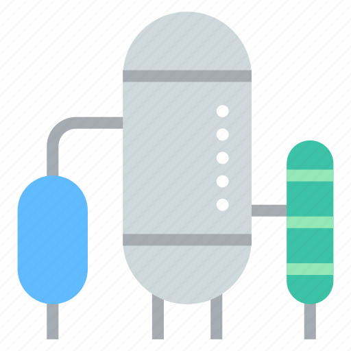 industry, silo, storage icon