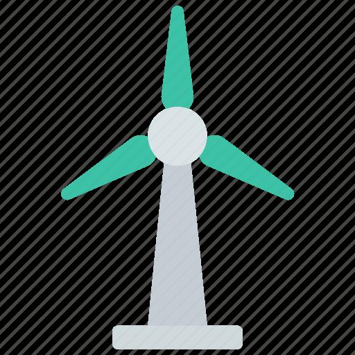 energy, generator, wind icon