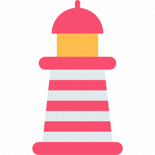 building, guide, lighthouse icon