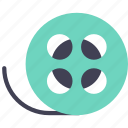 film, roll, video icon