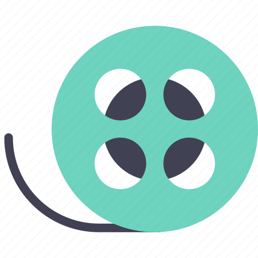 film, roll, video icon