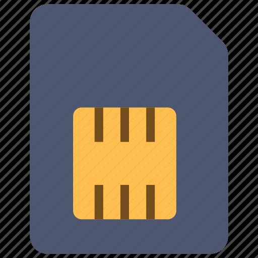 mobile, sim, smartphone icon