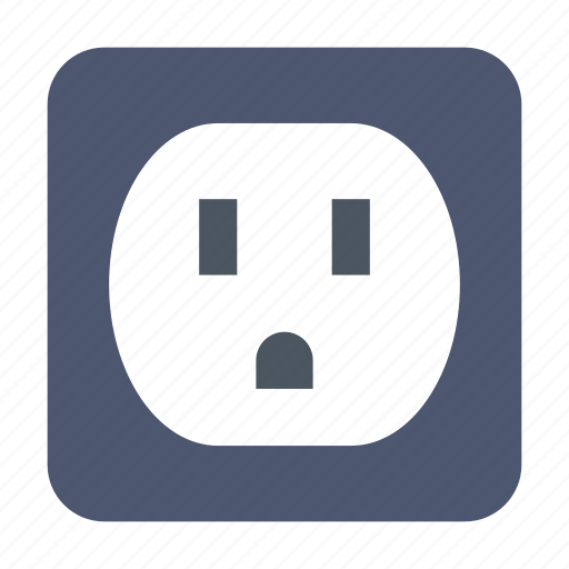Electric, electricity, socket icon - Download on Iconfinder