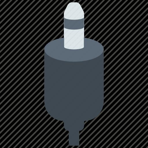 audio, cable, jack icon