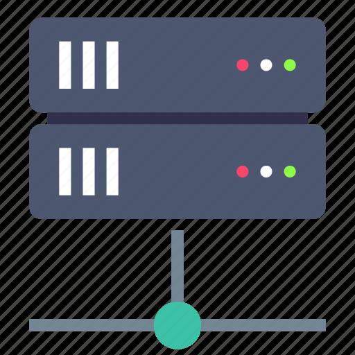 database, network, server icon