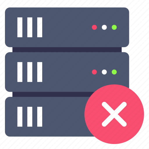 backup, clear, server icon