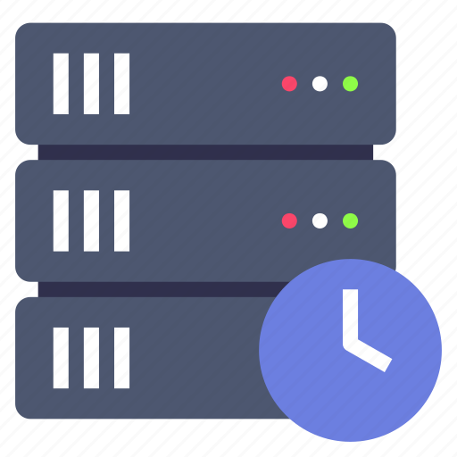 backup, rack, schedule icon