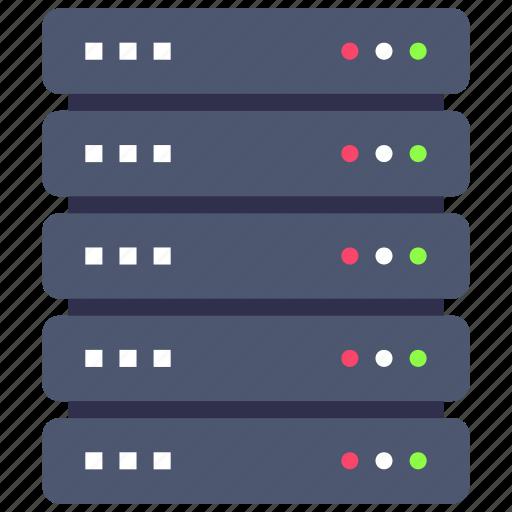 Database, rack, server icon - Download on Iconfinder