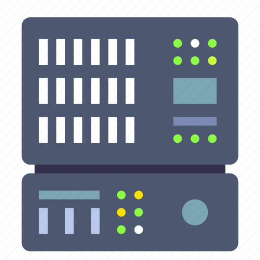 backup, data center, server icon
