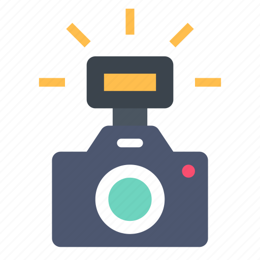 camera, flash, photo icon