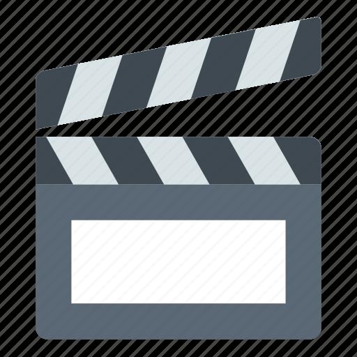 clapper, director, movie icon
