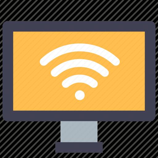 Internet, smarttv, tv icon