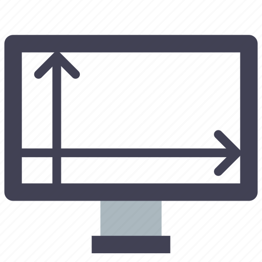 device, display, size icon