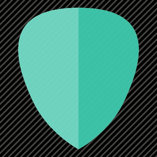 guitar, pick, sound icon