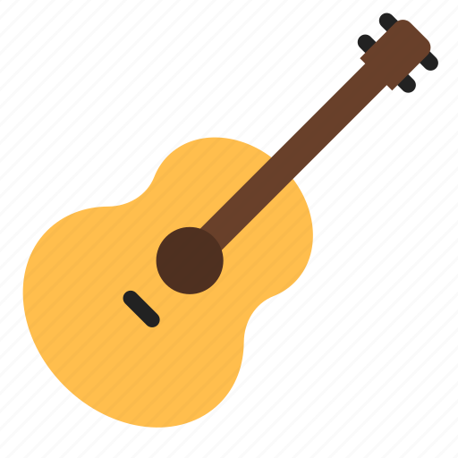 acoustic, guitar, instrument icon