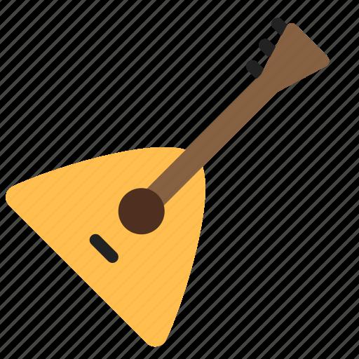 balalaika, instrument, music icon