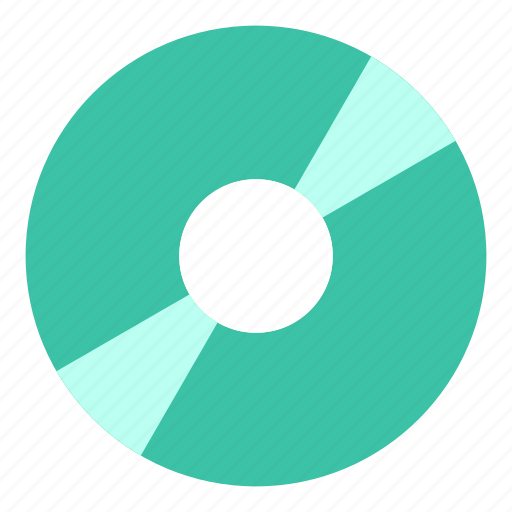 cd, disc, dvd icon