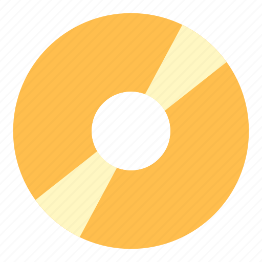 Disc, gold, album icon - Download on Iconfinder