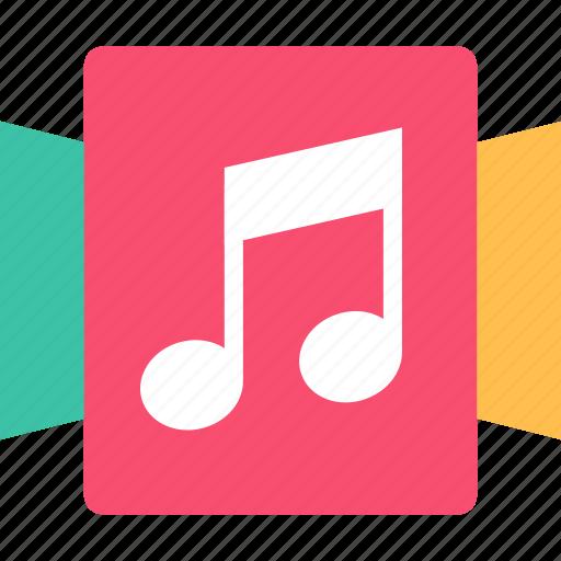 album, music, note icon
