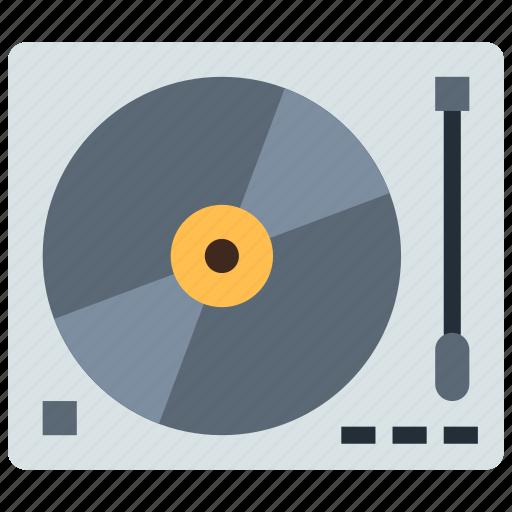 analog, dj, turntable icon