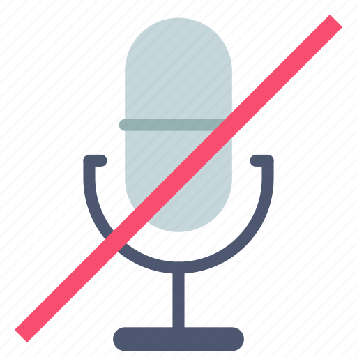 mic, microphone, mute icon