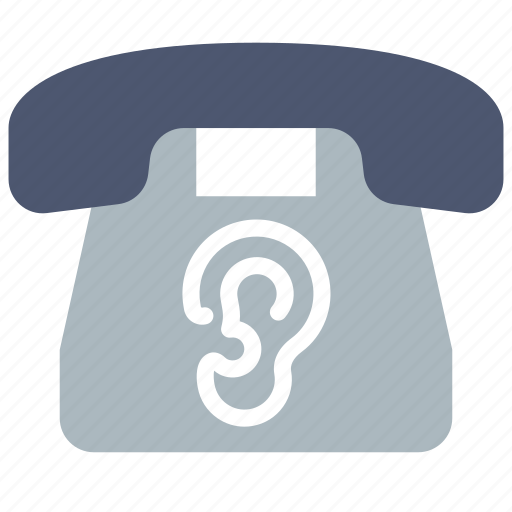 Eavesdrop, phone, wiretapping icon - Download on Iconfinder