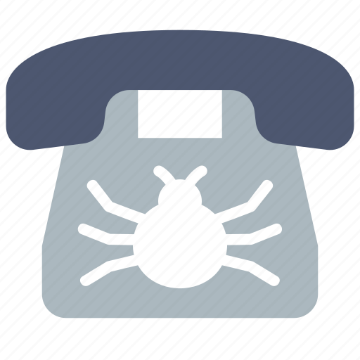 Bug, phone, wiretapping icon - Download on Iconfinder
