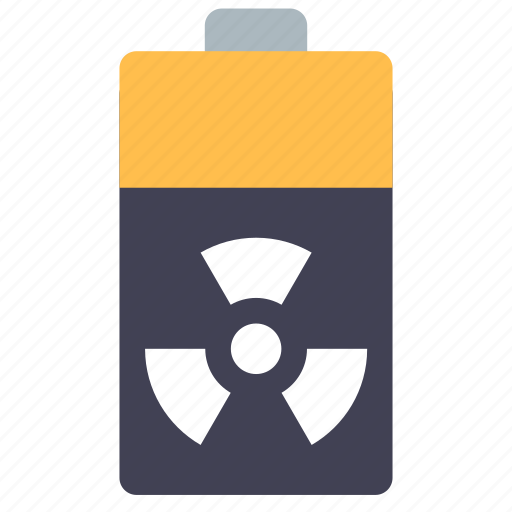 atomic, battery, nuclear icon