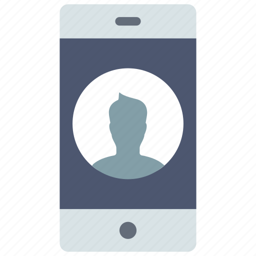 contact, device, mobile icon