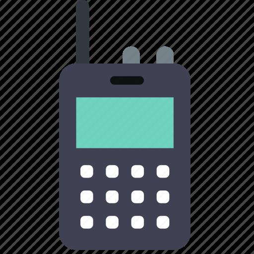 device, phone, radio icon