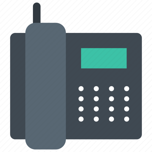 device, fax, phone icon