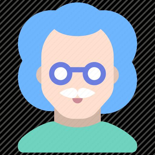 doctor, einstein, professor, scientist icon