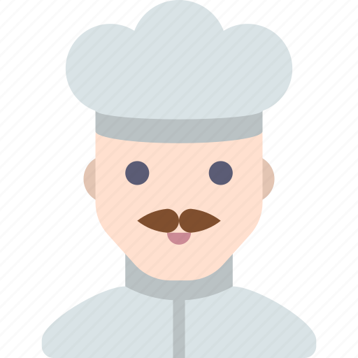 chef, cook, cooking, man icon