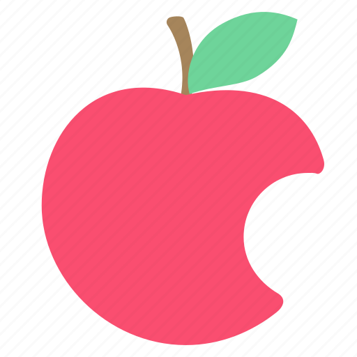 apple, cardinal sin, food icon