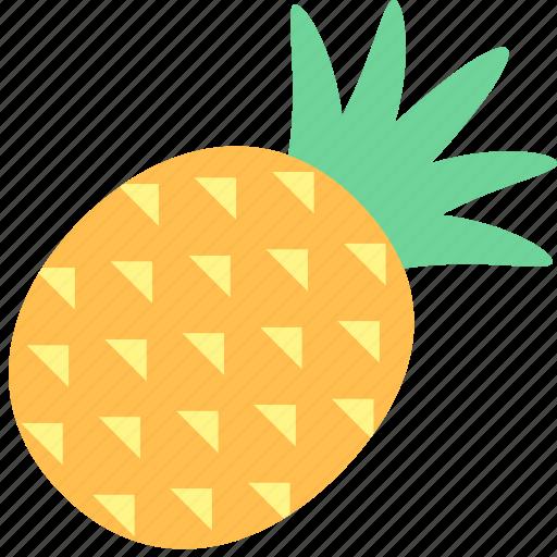 food, fruit, pineapple icon