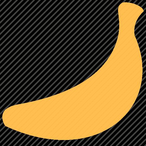 banan, food, fruit icon