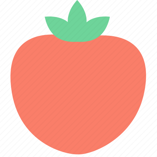 food, fruit, persimmon icon