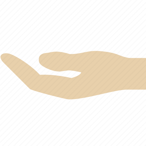 aims, hand, request icon